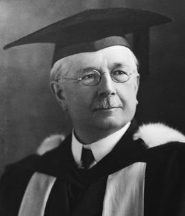 R.E. McKechnie, first president of BCMA. Considered a superb surgeon of his time with illuminating technique, inexhaustible kindness and incredible modesty. (Photo credit Doctors of BC Archives)