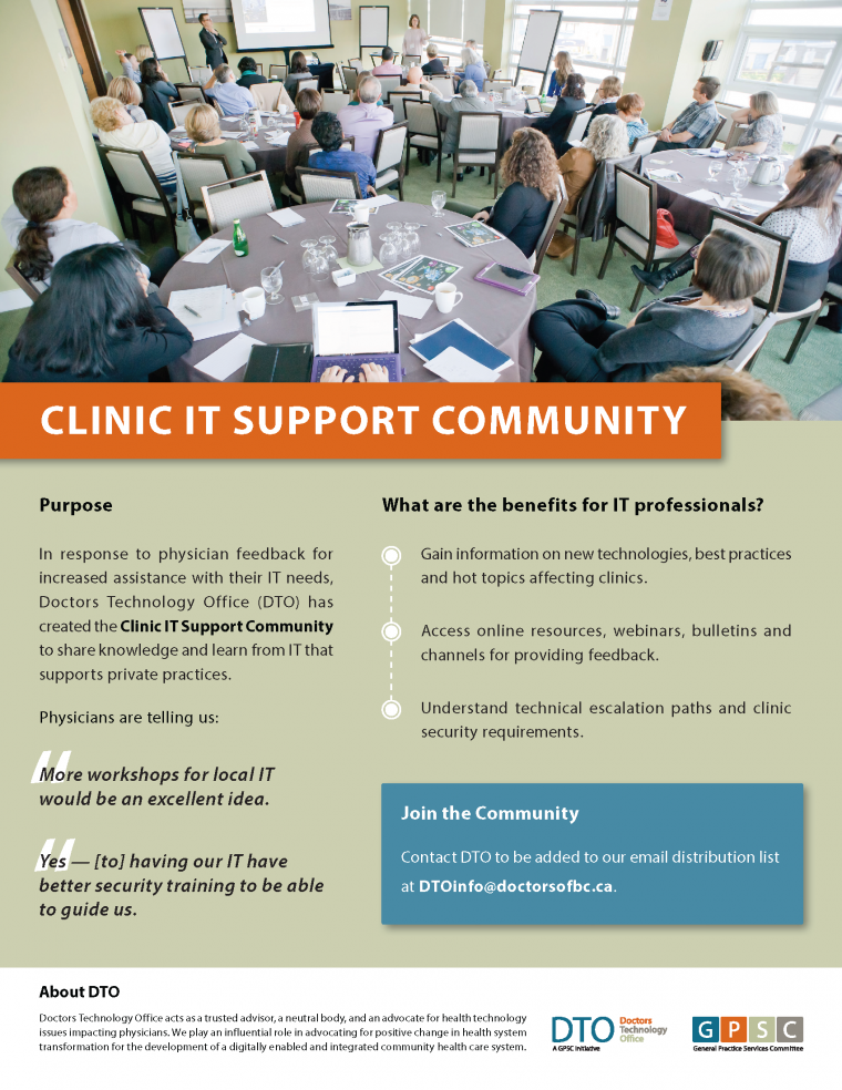 Clinic%20IT%20Support%20Community%20Poster